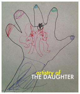 Maisee Xiong: Hand tracing by The Daughter